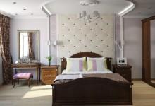 Дизайн интерьера спальни в стиле классики