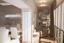 Фотографии: проект 2-комнатной квартиры на блюхера от дизайн.