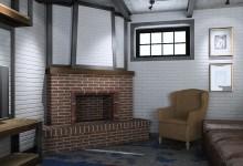 Загородный дом в Подмосковье в индустриальном стиле/лофт