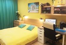 Желтая спальня контемпорари