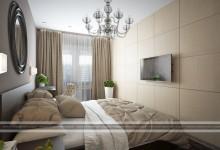 """ЖК """"Европейский"""" - дизайн однокомнатной квартиры"""