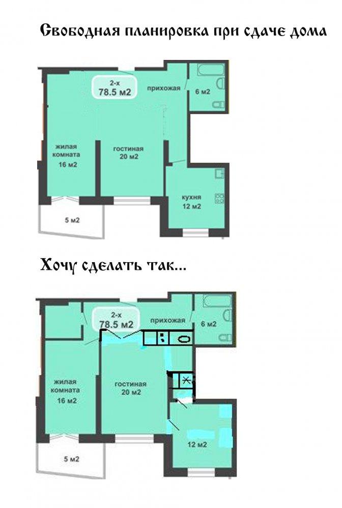 Как сделать из 2х комнатной квартиры сделать 3х комнатную