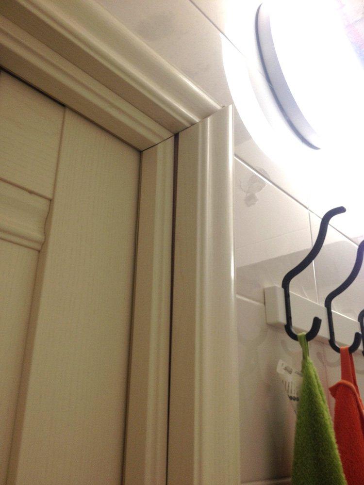 161Установка доборов и наличников на двери