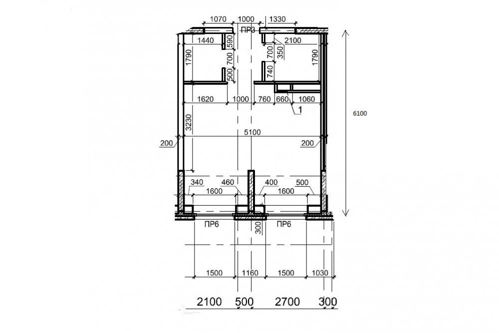 Перепланировка 3-комнатной квартиры в сталинке