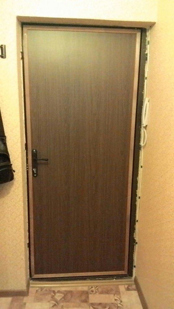 отделка входных дверей в коломне