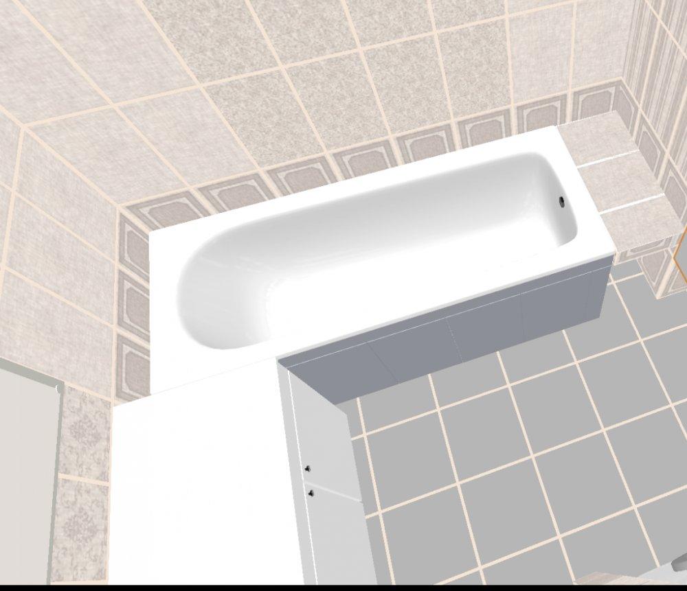 Как сделать бордюр в ванной у стены фото 900