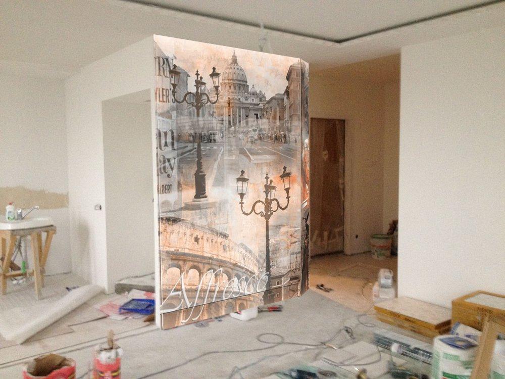 Как сделать фреску на стене