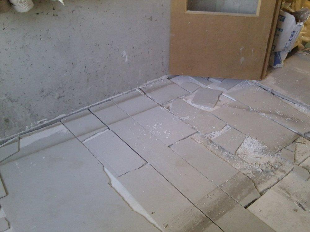 Как сделать пол на кухне на 1 этаже