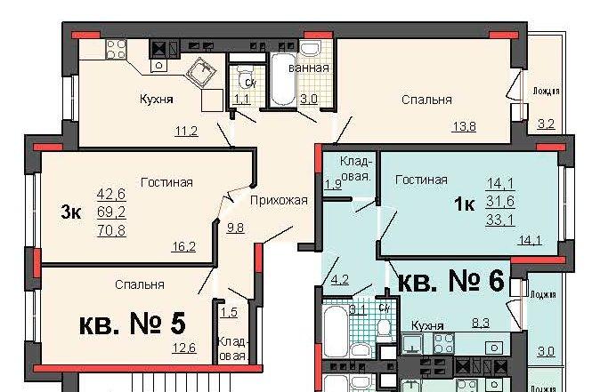 Можно ли из кухни сделать жилую комнату