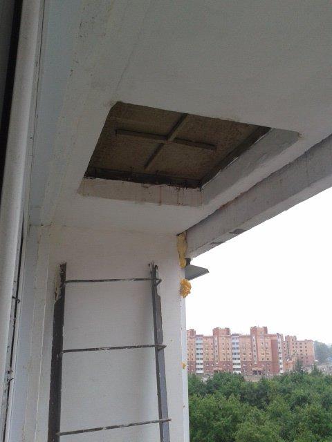 Как заделать балкон..