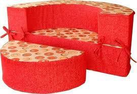 круглый диван-кровать Версаль