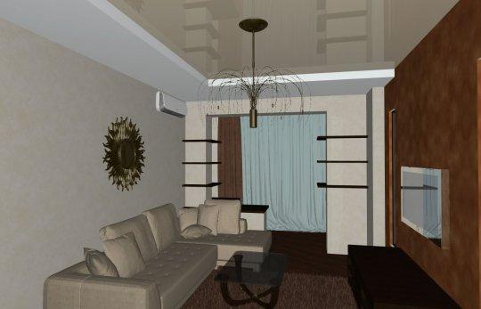 Посоветуйте сделать планировку 1 комнатной квартиры идеи для.
