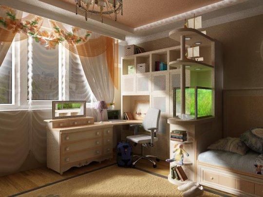 Комната школьницы фото