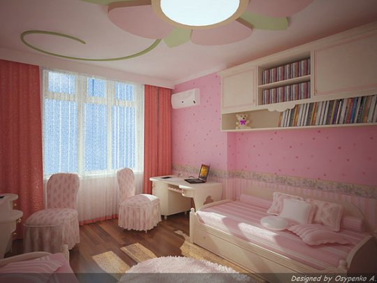 Квартирный вопрос комната для девочки подростка