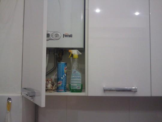 Как спрятать газовый счетчик в квартире