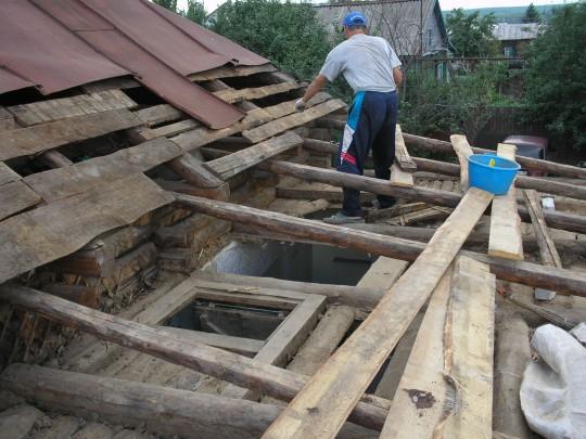 Как поменять крышу своими руками