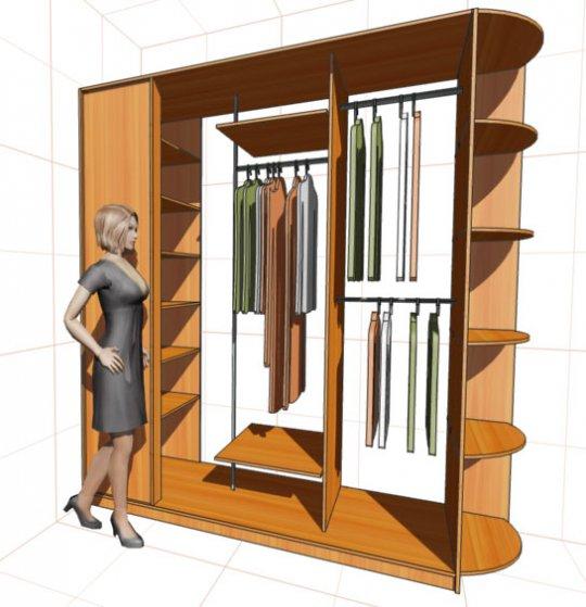 Как сделать из обычных шкафов шкаф-купе