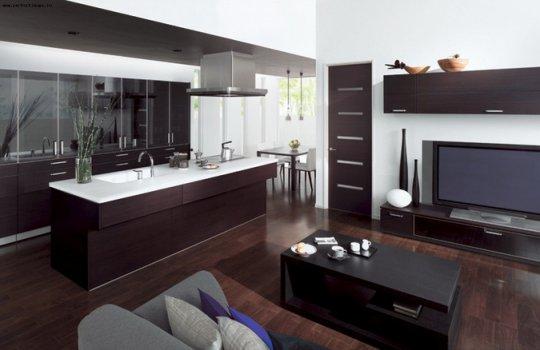 Дизайн кухни гостинной дизайн кухни