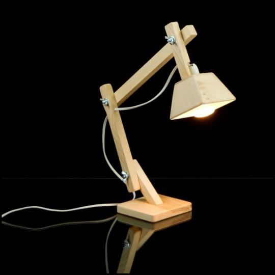Сделай сам настольная лампа из дерева