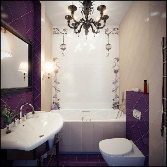Дизайн ванной комнаты маленьких фото