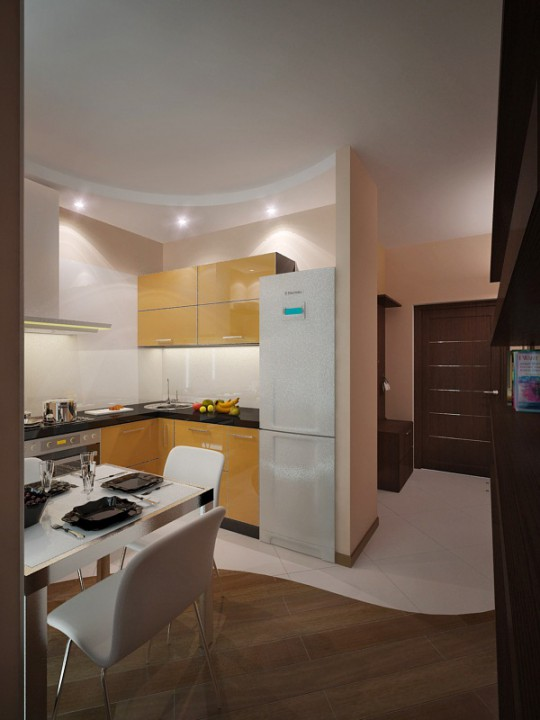 Как сделать интерьер кухни фото 151