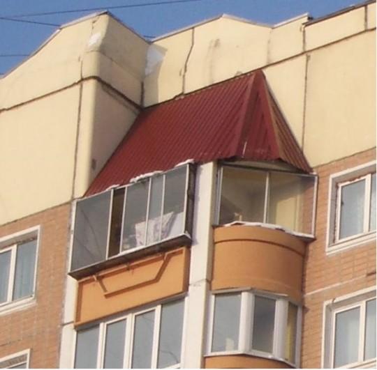 Крыша на балкон идеи для ремонта.