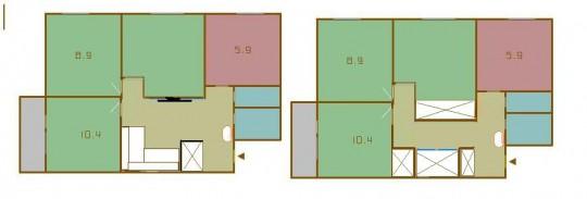 Смежно изолированные комнаты что это
