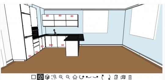 кухня икеа воксторп