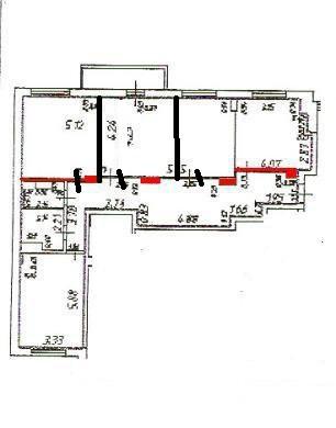 Как сделать из трехкомнатной квартиры сделать четырехкомнатную квартиру