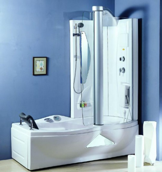 - Stunning home interior and bathroom decoration using steam shower for less ideas ...