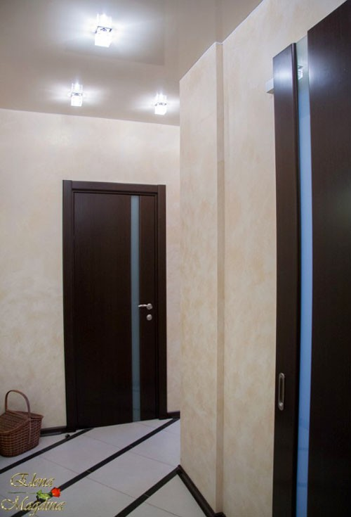 пол светлый венге двери