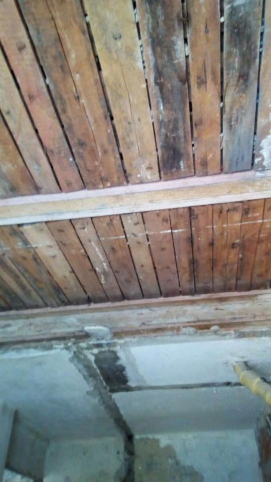 потолок кухня и дальше санузел
