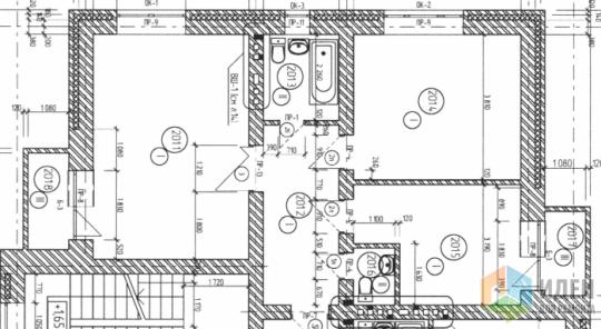 Вот строительный план квартиры.Нет с\у, который внизу на схеме. Дует из отверстия, которое на территории кухни.