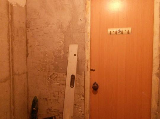 вот угол для жопы ванны (трубы выведены на противоположной стороне)