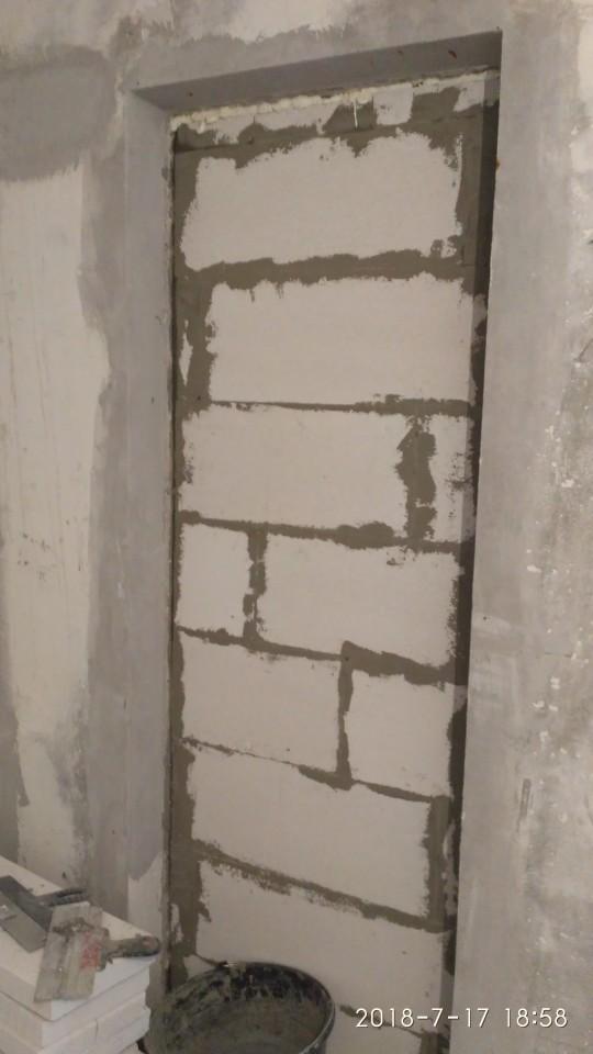 Ниша справа у стены